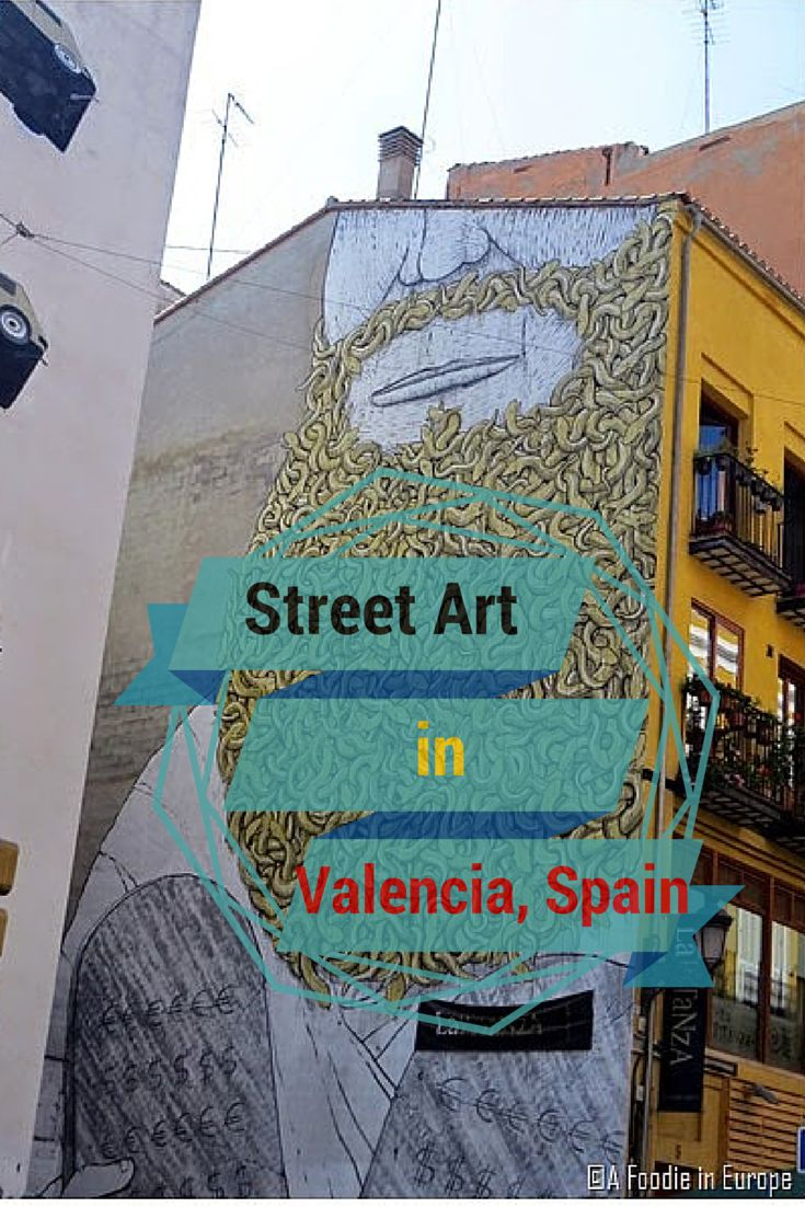 Valencia has some amazing street art! click the picture to see more.