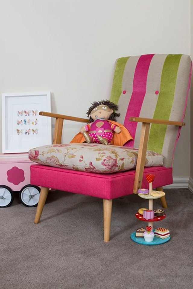 """Miss Samantha"" ... My first Miss Lolo chair back. So cute!"