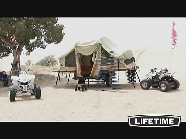 Lifetime Tent Trailer - image 7 from the video & Best 25+ Lifetime tent trailer ideas on Pinterest | Tent trailers ...