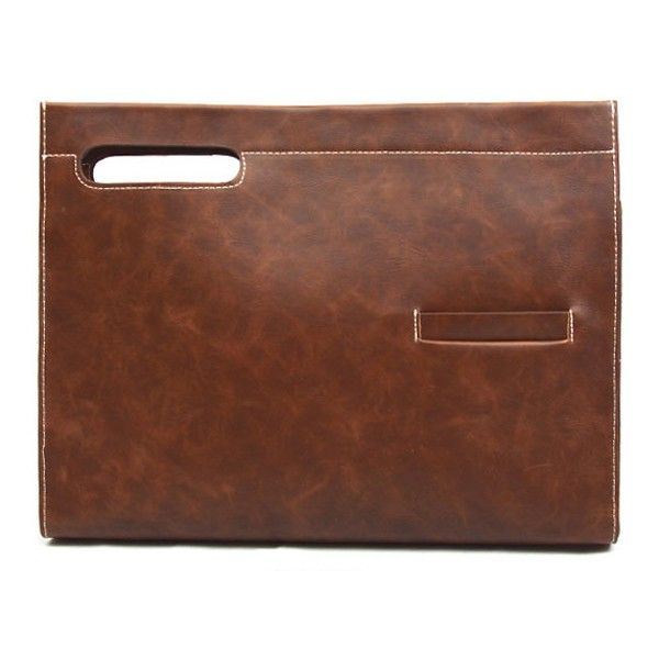 Mens Clutch Bag Brown Clutch Bags for Men KTZ 232