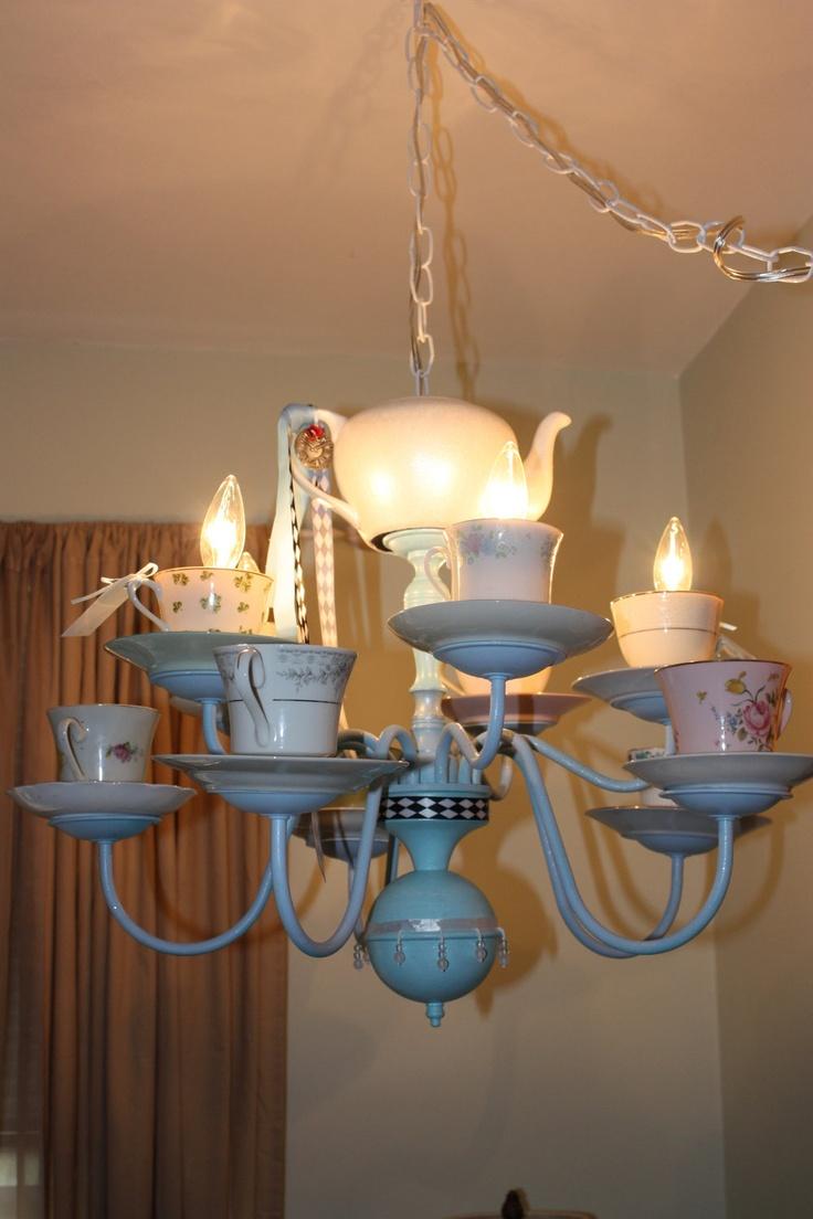 34 best tea cup chandeliers images on pinterest chandeliers etsy tea cup chandelier arubaitofo Choice Image