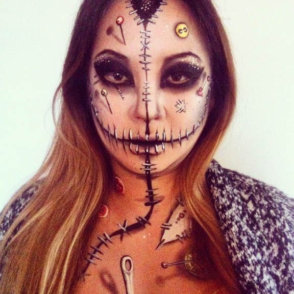 Top 25+ best Voodoo doll makeup ideas on Pinterest | Scary doll ...