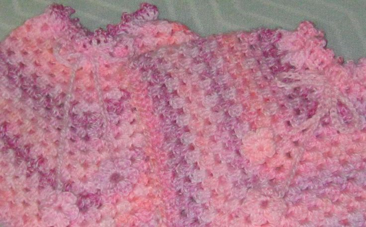 Granny poncho's for the twins