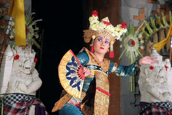 Balinese dancer, the hands, facial and eye expresion is very important in the dance. It's a religious and artistic expression among the Balinese people.