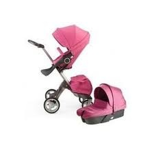 The gorgeous Stokke Xplory in hot pink would be perfect