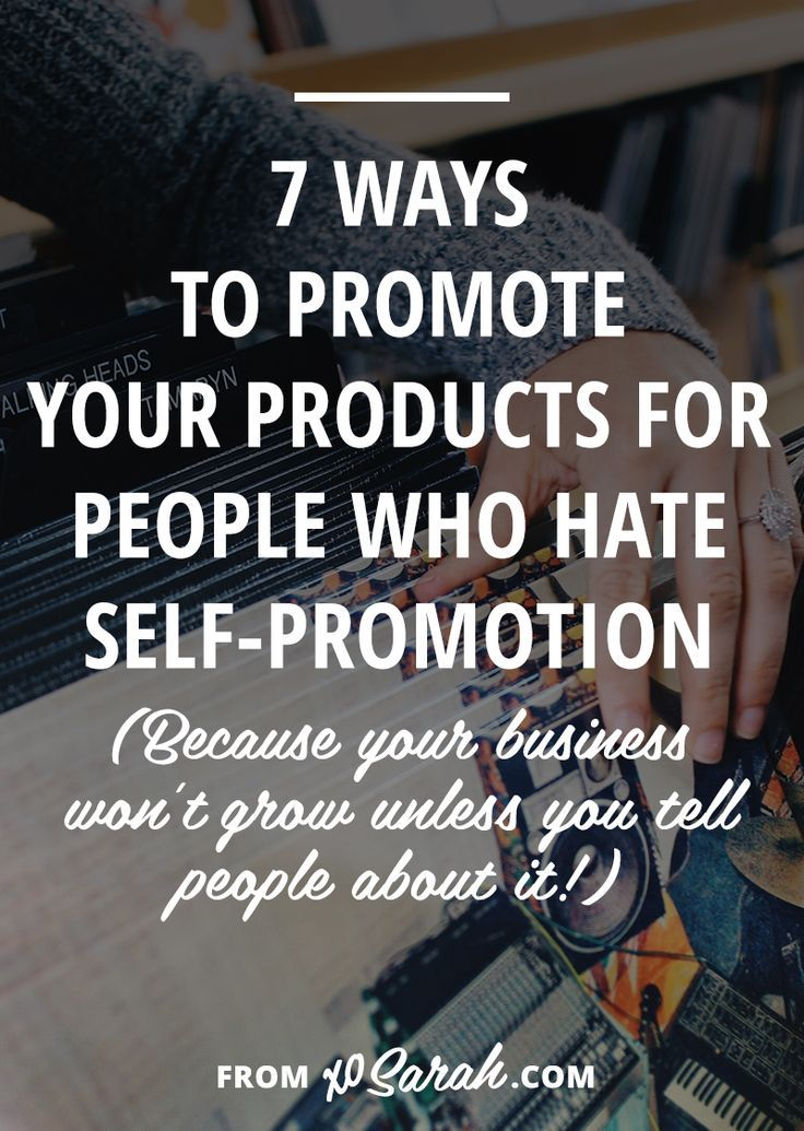 One of the biggest issues I see online, is that people still aren't sure if they should be tweeting/pinning/promoting their own stuff and they don't know how often to do it. Well, here's the deal. If you, A) want to build a business and B) want to make money from that business, you're gonna need to learn self-promotion ASAP.