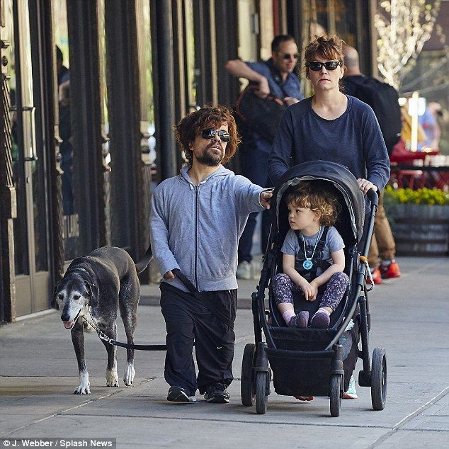 Peter Dinklage keeps it casual for family lunch date in ...