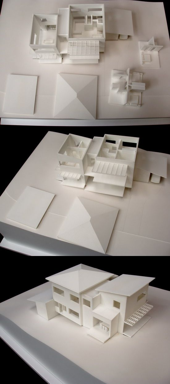 1:100 Murrays Beach Houses. Architectural Model by Modelcraft (NSW) Pty Ltd