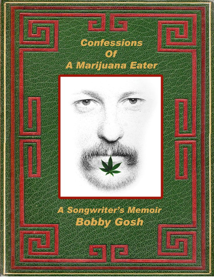 Confession of a Marijuana Eater - Book Cover