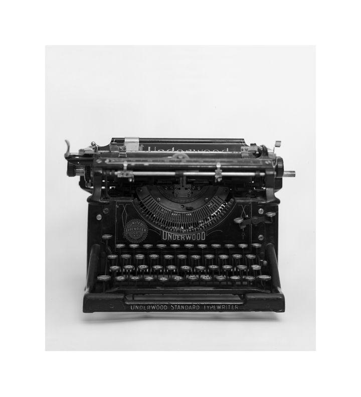 Morgan Bentham, The Typewriter, 2011.