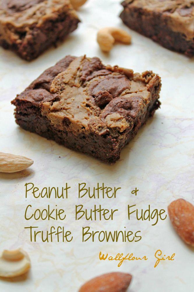 butter fudge truffle brownies cookie butter peanut butter fudge fudge ...