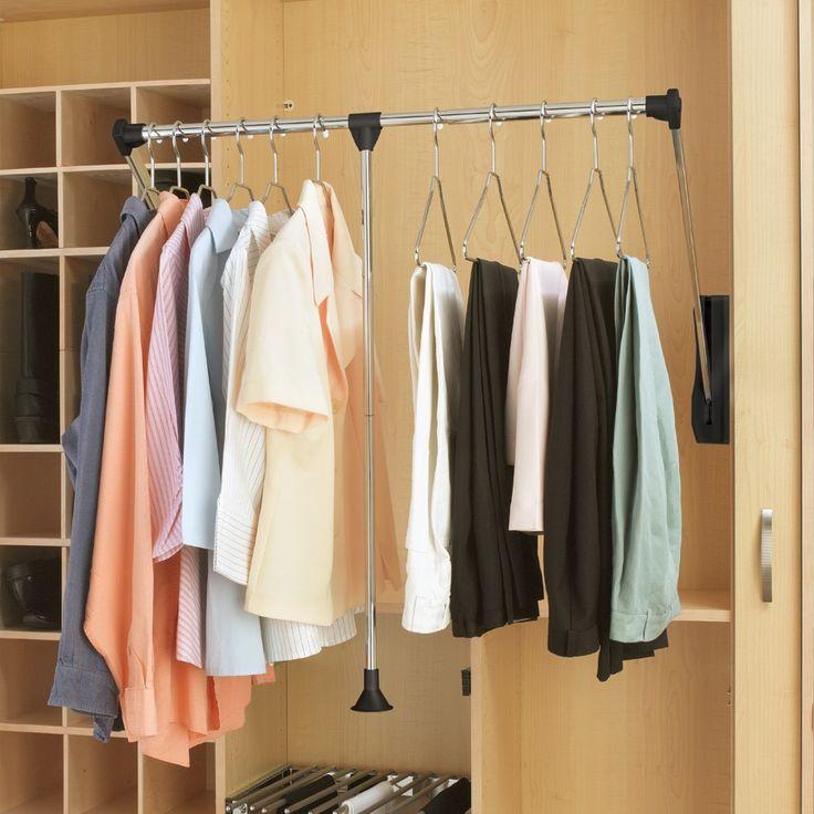 Rev-A-Shelf Pull-Down Closet Rod 26-35
