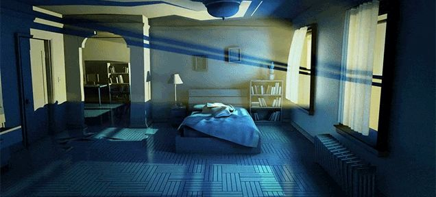 Awesome Animation Imagines the Nightmare That's Happening Around You When You Sleep  http://sploid.gizmodo.com/awesome-animation-imagines-the-nightmare-thats-happenin-1768342537