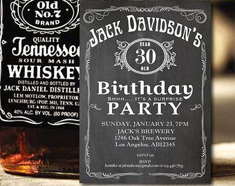 beer 30th birthday invitations for men - Google Search