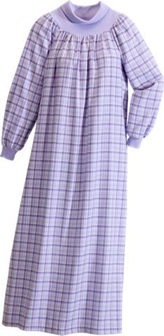 flannel nightgown my mom would love this turtleneck pockets and flannel - Flannel Nightgowns