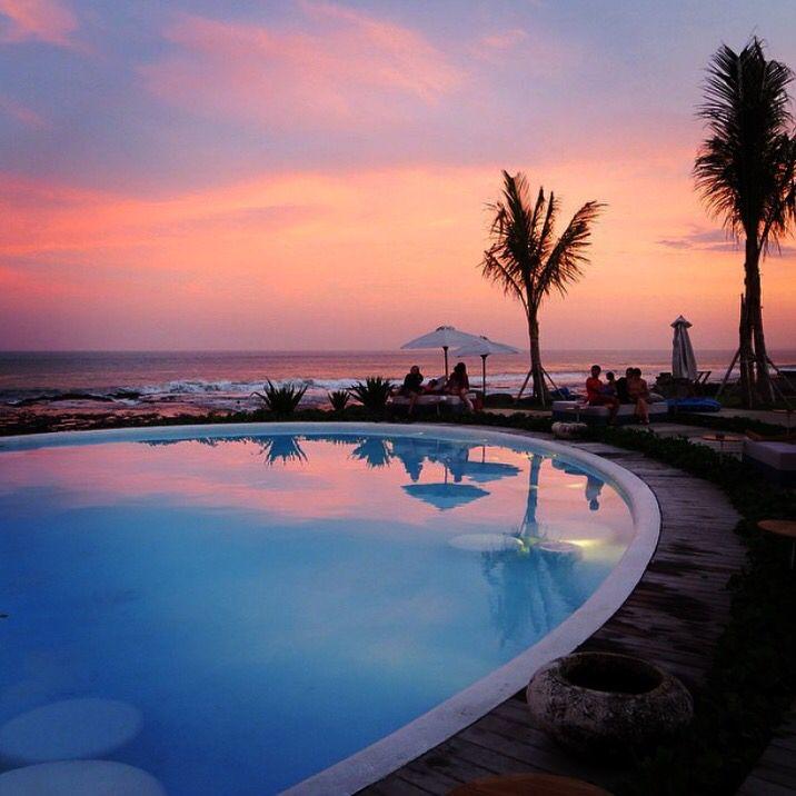Sunsets at Hotel Komune Bali