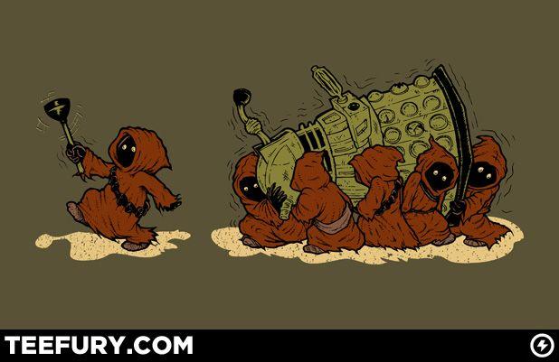 Bad Exterminator Unit  TEEFURY.COM: Extermin United, Bad Extermin, Doctorwho, Stars War, Doctors Who Shirts, Dr. Who, Fandom, Doctors Who Crossover, Starwars
