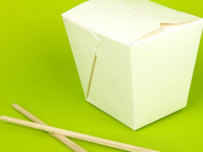 ¿Cómo hacer una caja de comida china