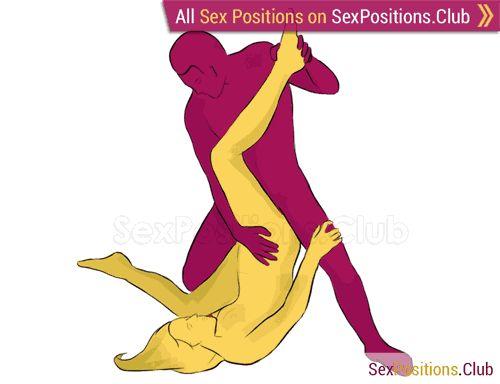 Screwdriver sex position