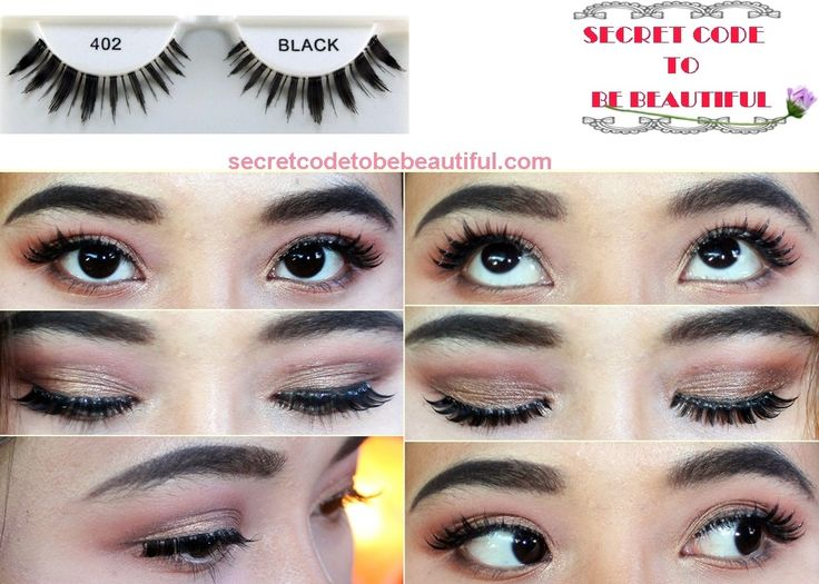 """Ardell edgy lashes 402 Hello and Howdy! This week, I would like to give a review on one of the lash styles which comes from Ardell Edgy Collection : no.402. It is said to be a """"combination of natural strip lashes a…"""