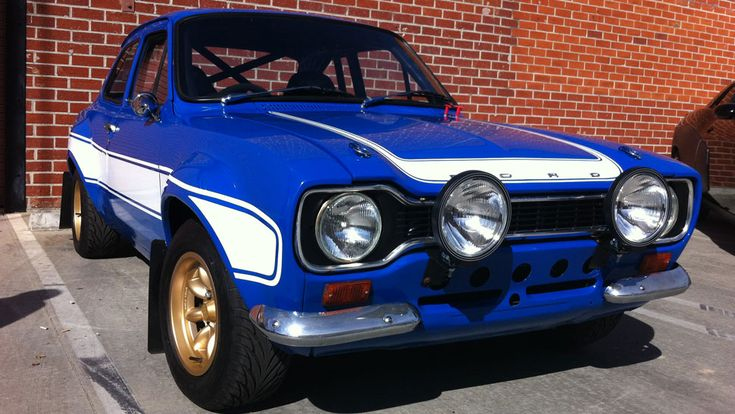 Ford Escort Mk I ( Fast and the Furious 6)