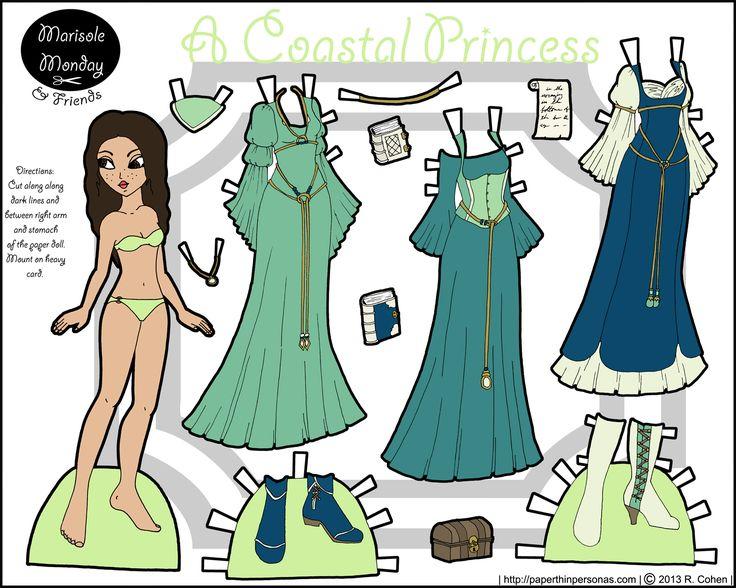 marisole monday paper dolls pinterest paper princesses. Black Bedroom Furniture Sets. Home Design Ideas