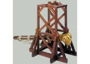 Torre ariete romana - X sec.   scala 1:22