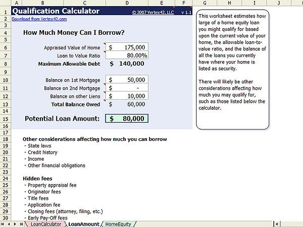 How To Calculate Home Equity Line Of Credit Interest Home Equity Line Home Equity Home Equity Loan Calculator