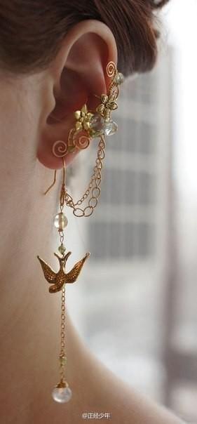 #piercingjewelrygoldearcuffs