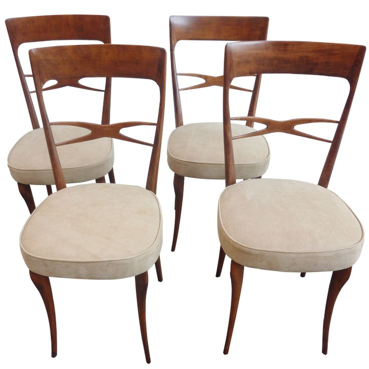 1stdibs.com | Four Brazilian Dining Room Chairs
