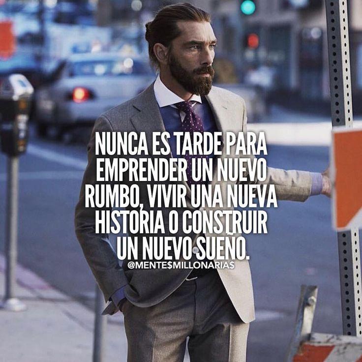 Nuna es tarde para #emprender un proyecto o un sueño