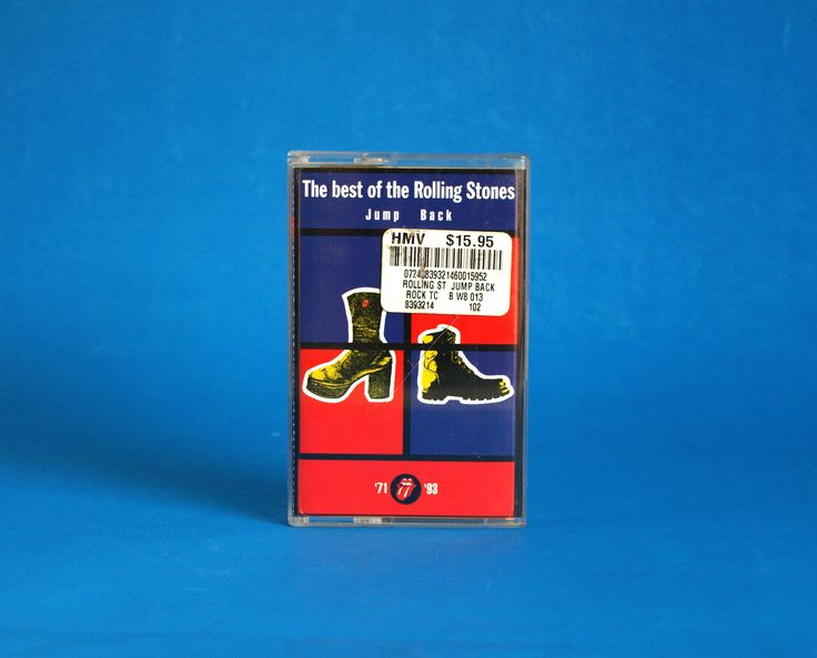 The Best of the Rolling Stones Cassette Tape - Vintage Jump Back 1971 - 1993 Virgin Records - Classic Hifi by FunkyKoala on Etsy