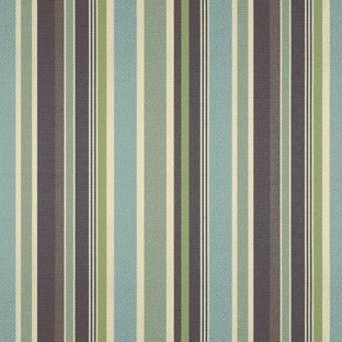 This fabric is the anchor of our deck furniture and perfectly blends sage, celedon, pale blue hues and neutrals  Sunbrella Fabric: 5621-0000 Brannon Whisper