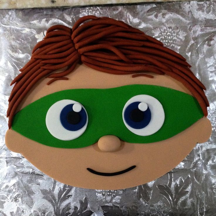 Super Why  Cake Topper by Eiracookies on Etsy                                                                                                                                                                                 More