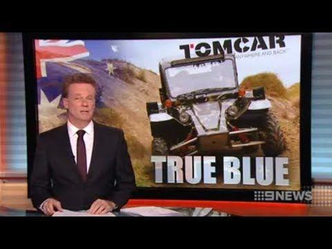 Tomcar Australia on Channel 9 News