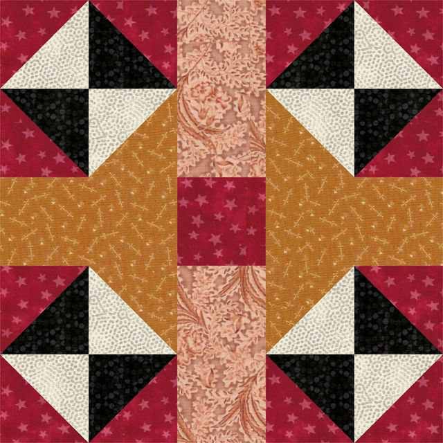 It's Fun to Experiment with Color and Contrast When You Sew These Blocks: How to Sew Traditional Red Cross Quilt Blocks