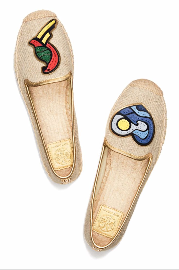 Tory Burch Parrot Mismatched Espadrille - New Shoes Styles & Design
