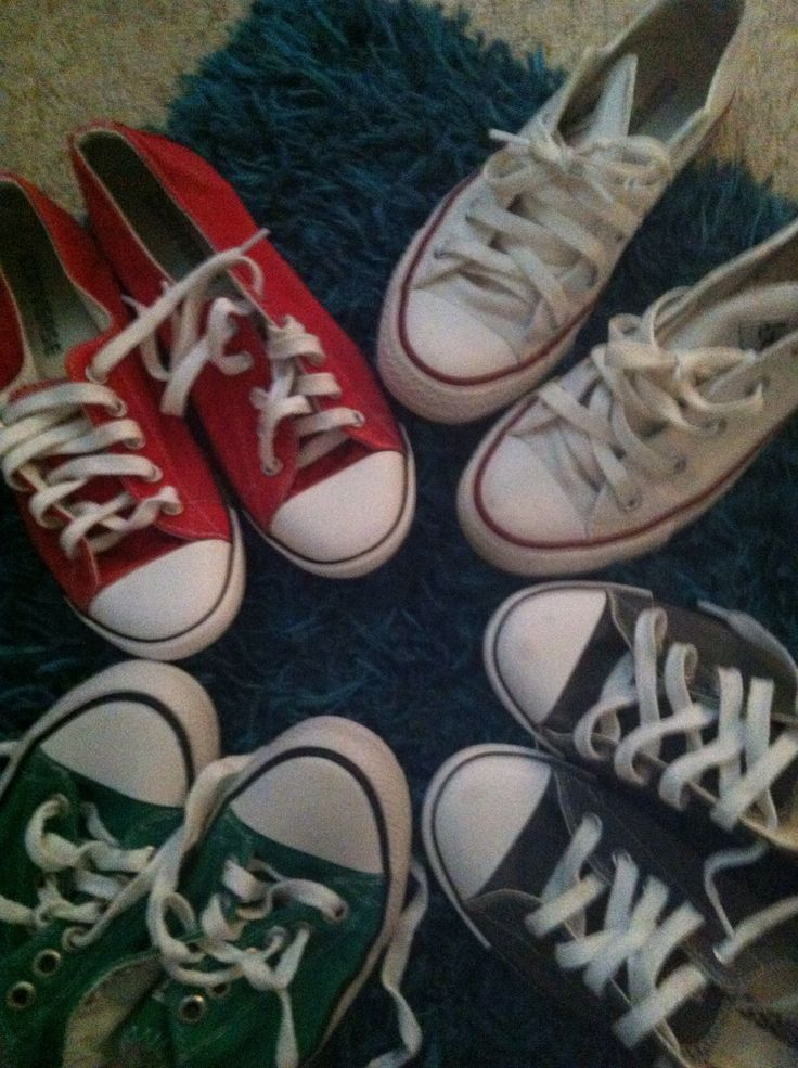 How to Clean Converse- I so need this