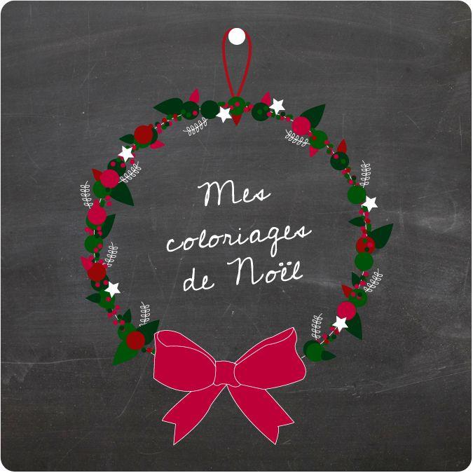 Les coloriages de Noël à imprimer - Vie de Miettes