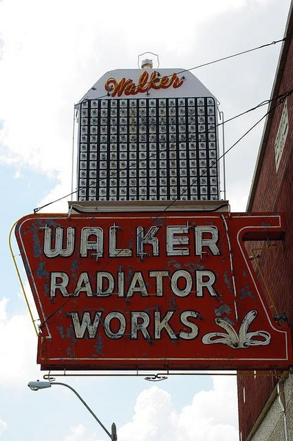 Walker Radiator Works ~ Old Neon Sign, Memphis,TN.
