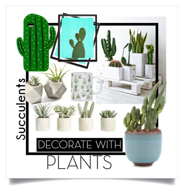 """""""go green!"""" by kharismabelle on Polyvore featuring interior, interiors, interior design, home, home decor, interior decorating, Allstate Floral, Sarina, DENY Designs and plants"""