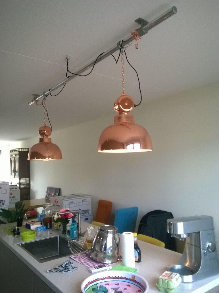 #steigerbuizen met #lamp