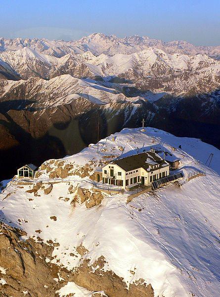 The mountain shelter Rifugio Brioschi, Esino Lario, Lake Como, Lombardy, Italy