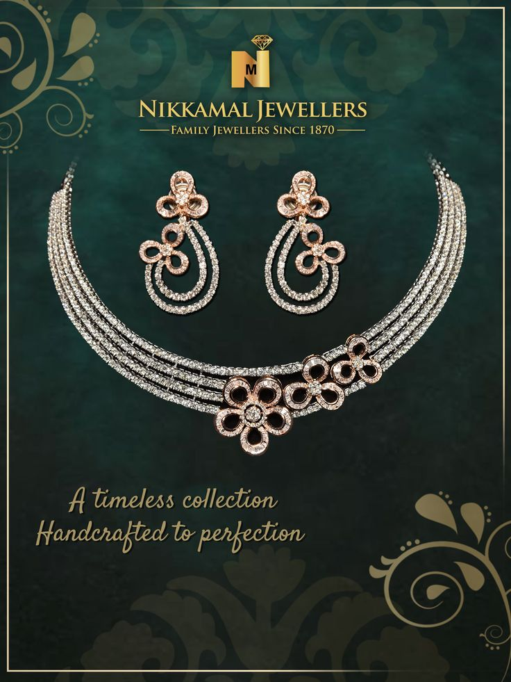 A timeless collection. Handcrafted to perfection!! Visit us at Nikkamal Jewellers Ludhiana & Jalandhar Showrooms to place your order.
