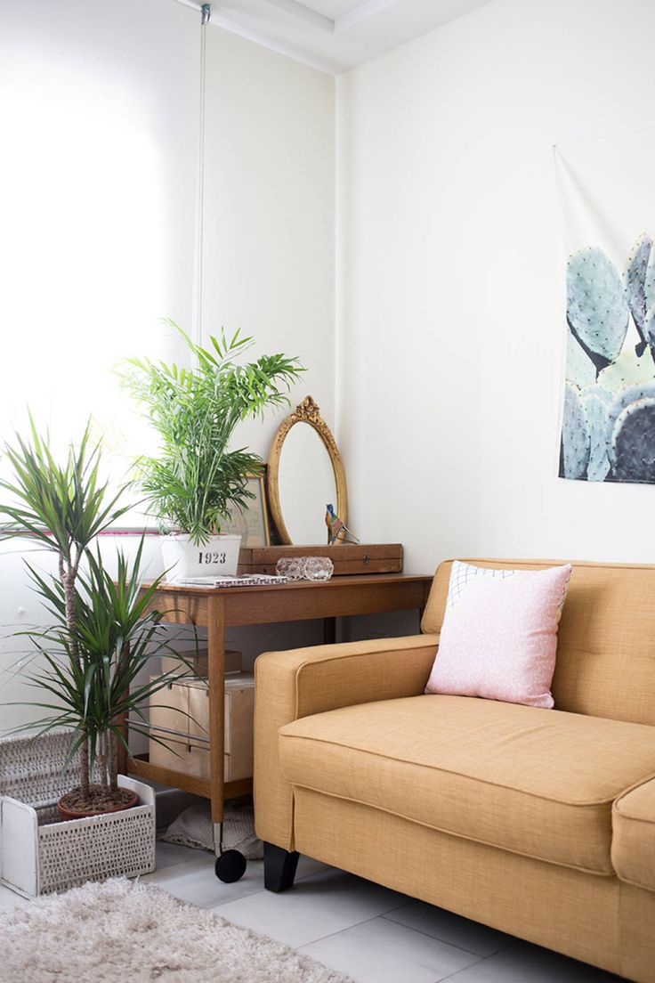 ¿Poco espacio? - Creá un ambiente cómodo y colorido:  Será chiquito pero es cómodo y colorido