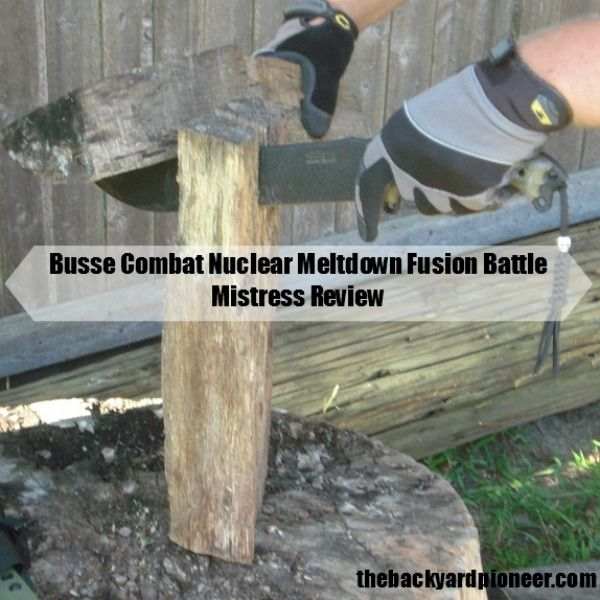 If you are looking for a beast of a fixed blade knife look no further than the Busse Combat Battle Mistress! Check out my full review. . .