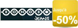 Les « Bonobo Days » jusqu'à -50% sur les jeans homme et femme Bonobo jeans !