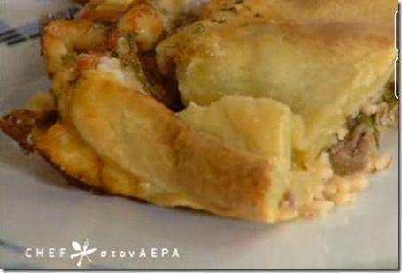 Chef στον αέρα - Video Κεφαλονίτικη κρεατόπιτα