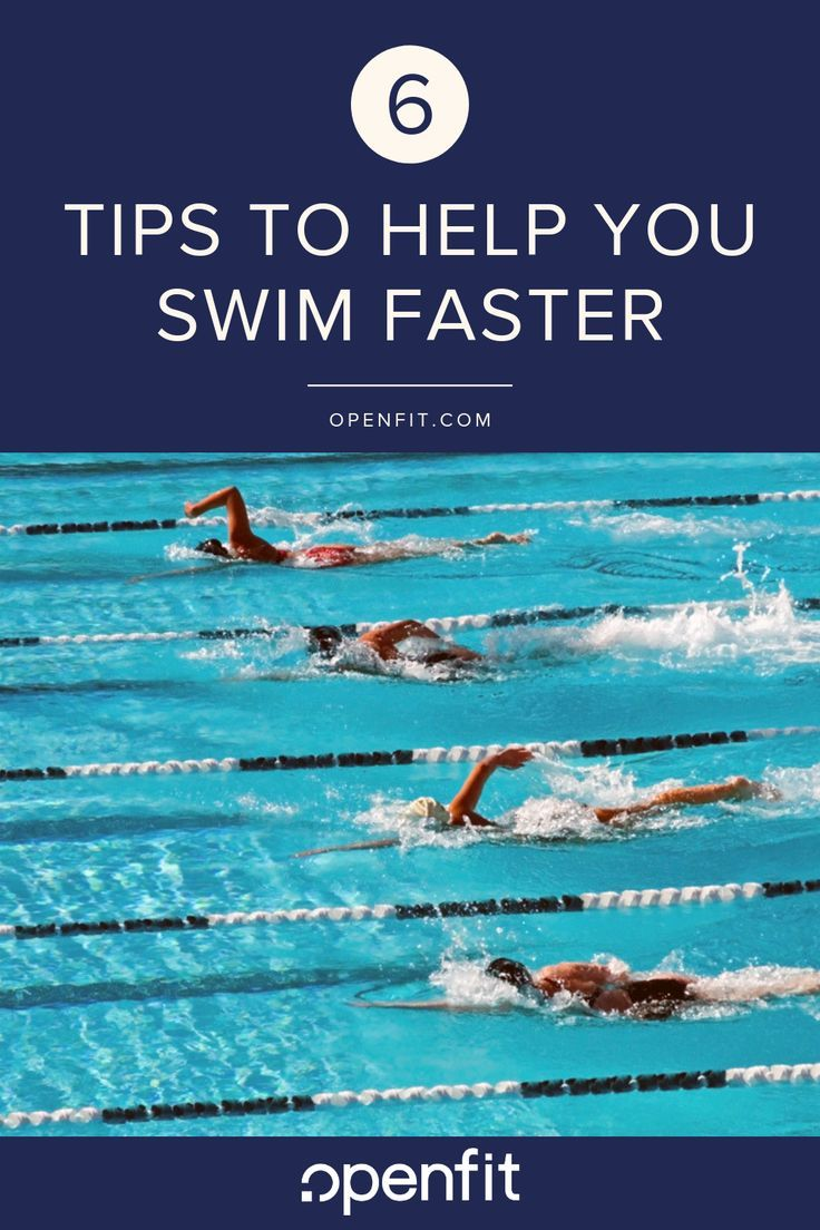 How to Swim Faster 6 Tips to Improve Stroke and Speed