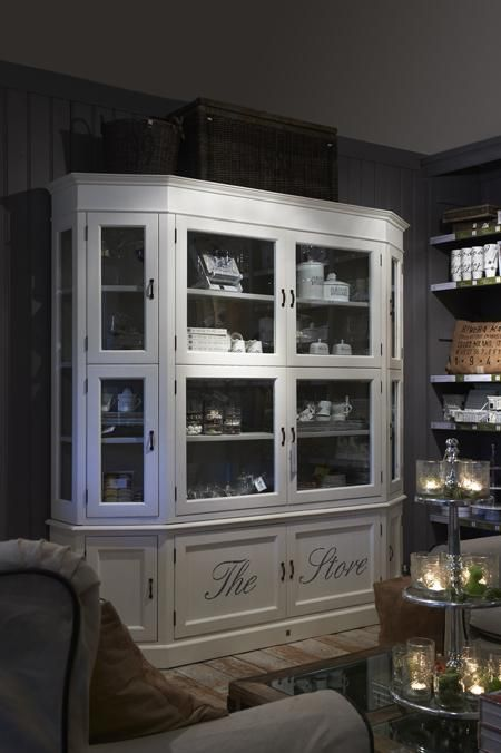The Store Glass Cabinet